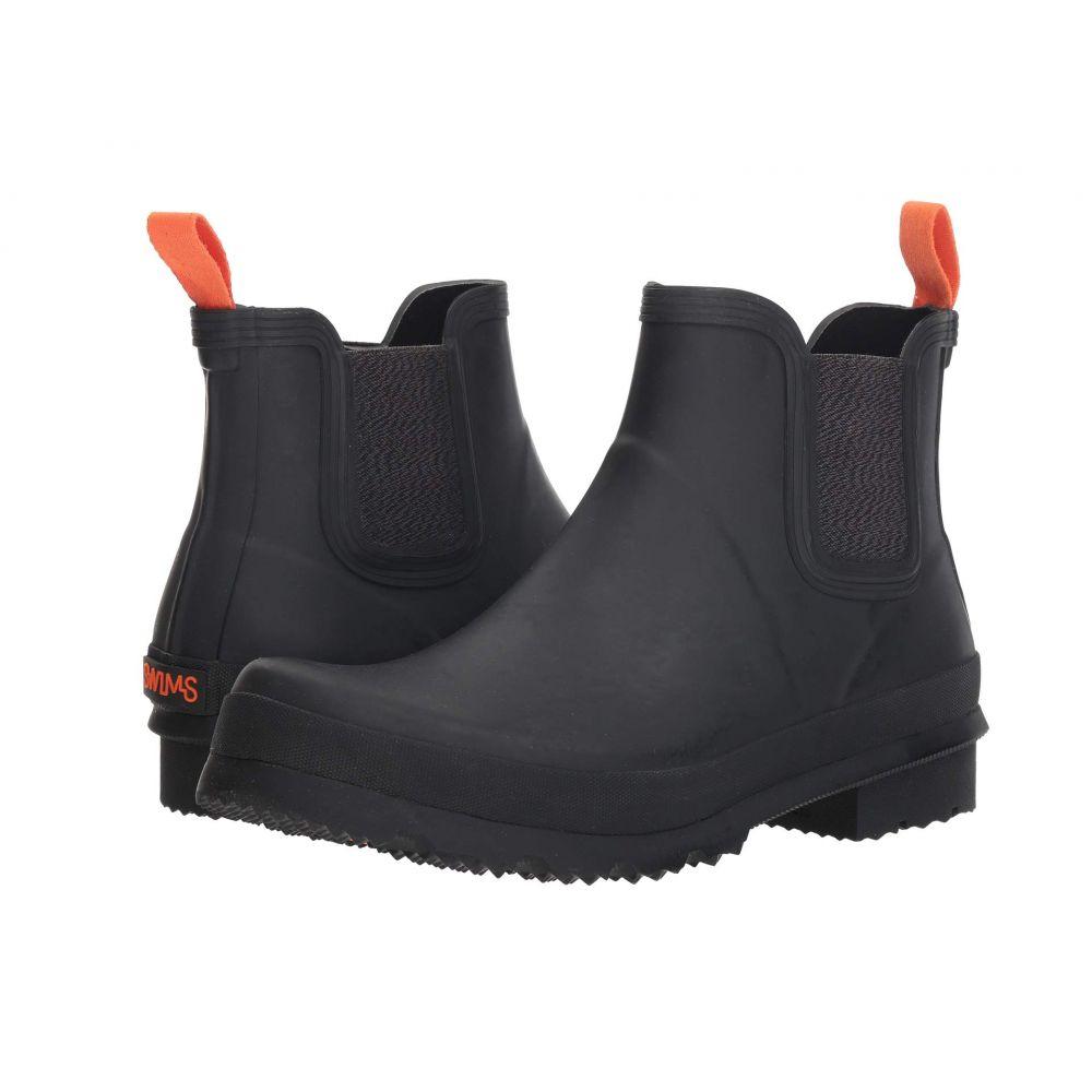スウィムス SWIMS メンズ レインシューズ・長靴 シューズ・靴【Charlie Rain Boot】Black