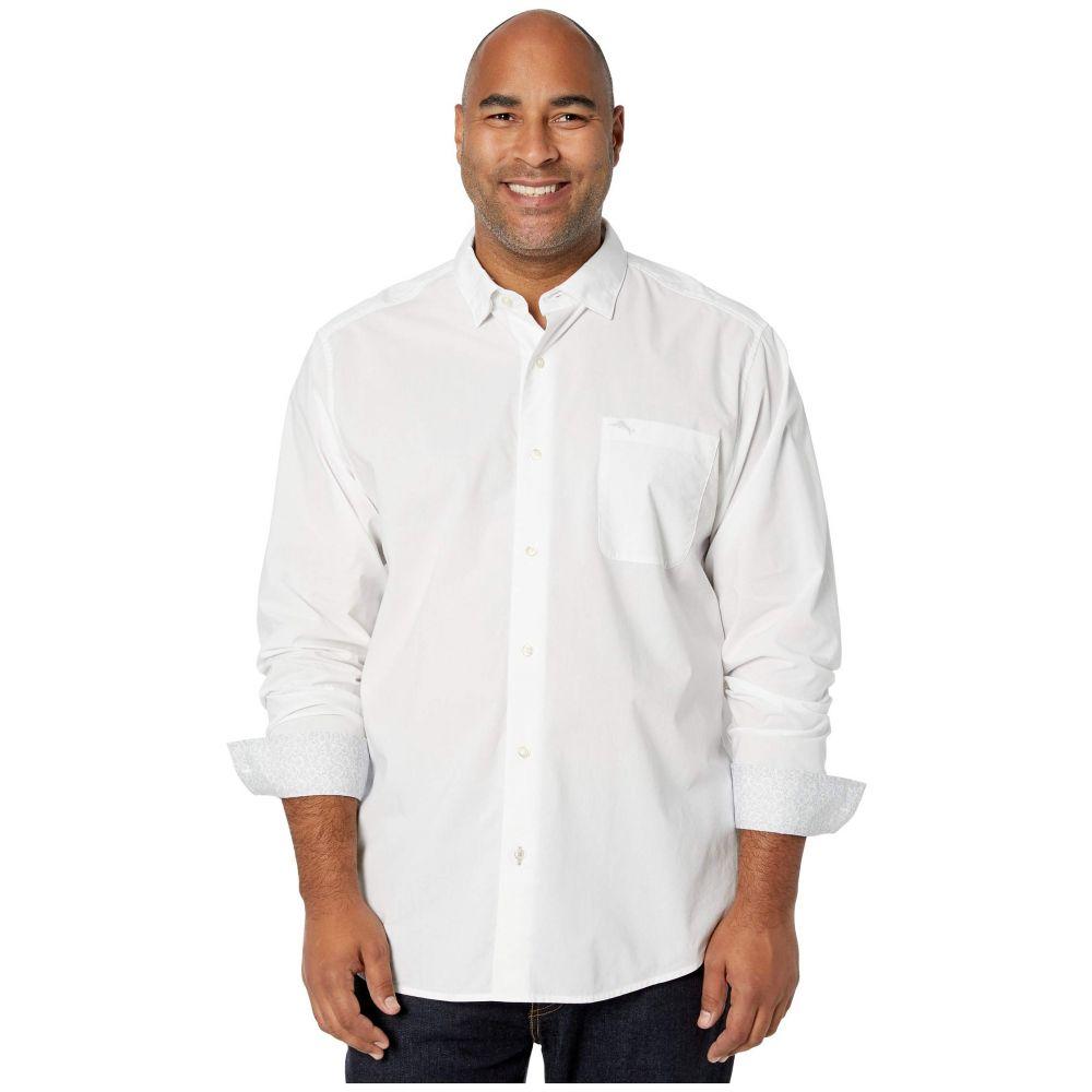 トミー バハマ Tommy Bahama Big & Tall メンズ シャツ 大きいサイズ トップス【Big & Tall Newport Coast IslandZone Shirt】White
