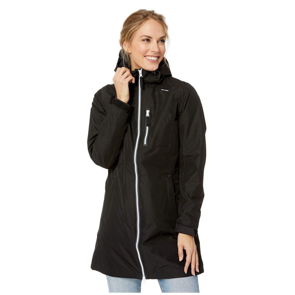 ヘリーハンセン Helly Hansen レディース ダウン・中綿ジャケット アウター【Long Belfast Winter Jacket】Black