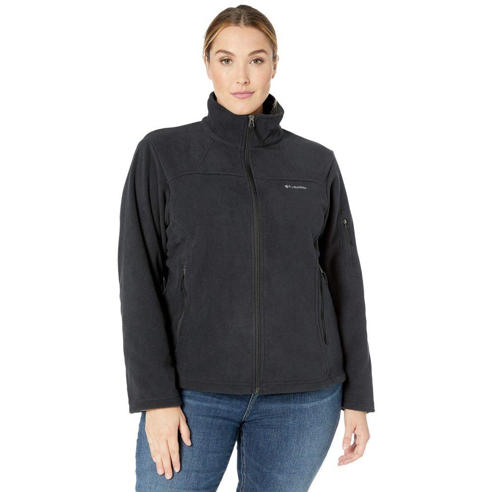 コロンビア Columbia レディース ジャケット 大きいサイズ アウター【Plus Size Fast Trek(TM) II Jacket】Black