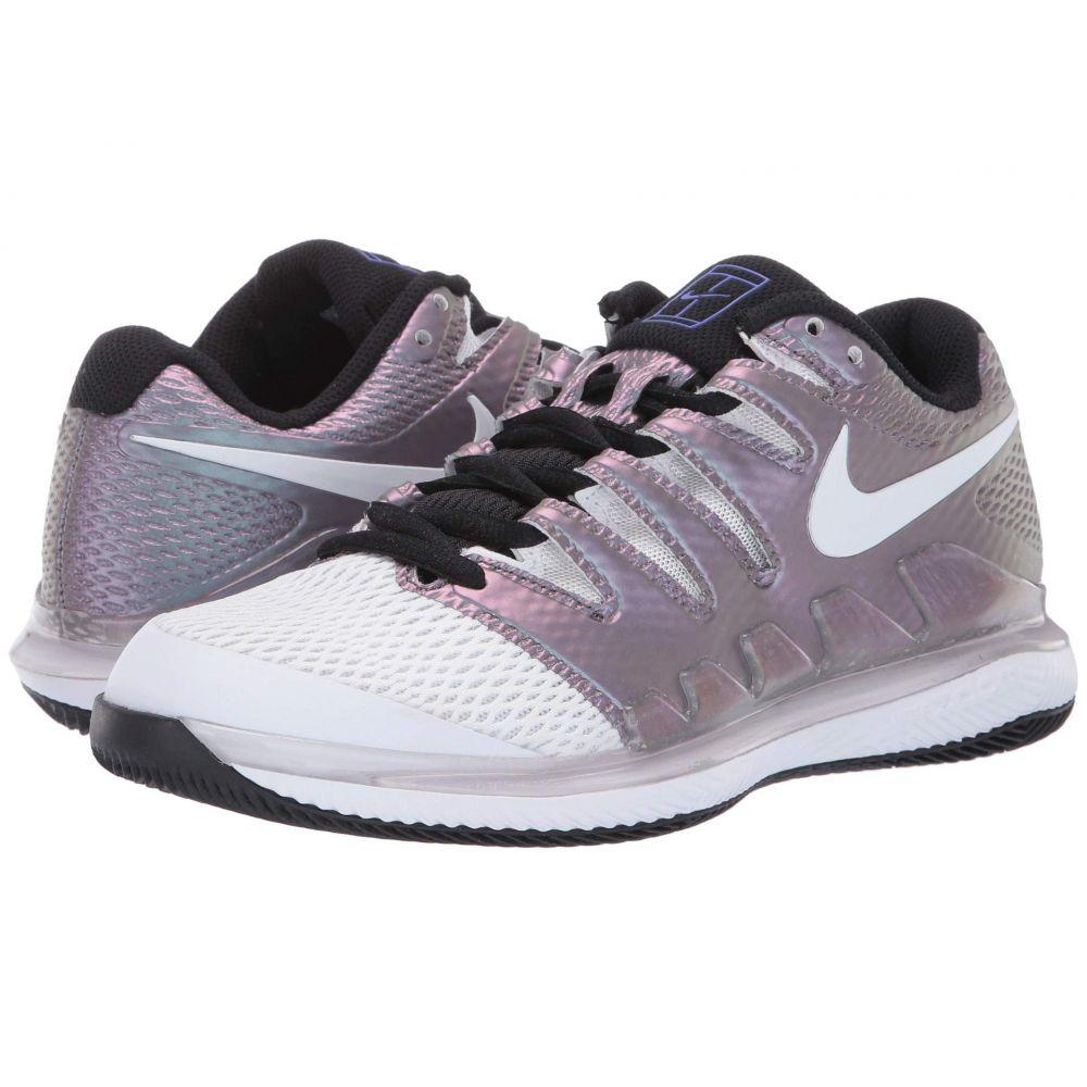 ナイキ Nike レディース テニス エアズーム シューズ・靴【Air Zoom Vapor X】Multicolor/White/Black/Psychic Purple