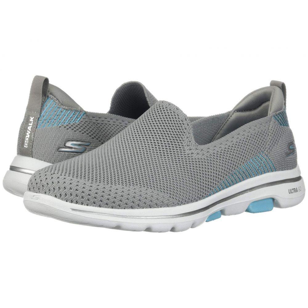 スケッチャーズ SKECHERS Performance レディース スニーカー シューズ・靴【Go Walk 5 - Prized】Gray/Blue