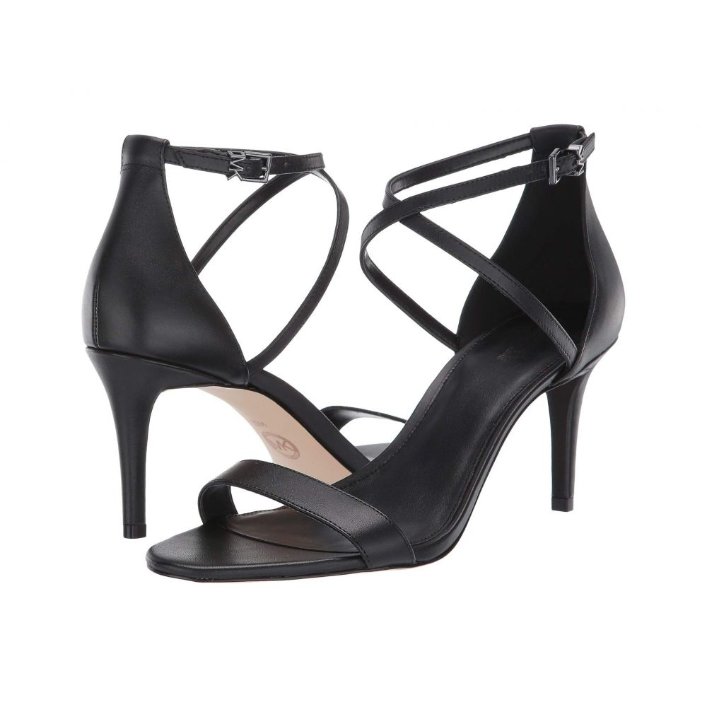 マイケル コース MICHAEL Michael Kors レディース サンダル・ミュール シューズ・靴【Ava Mid Sandal】Black