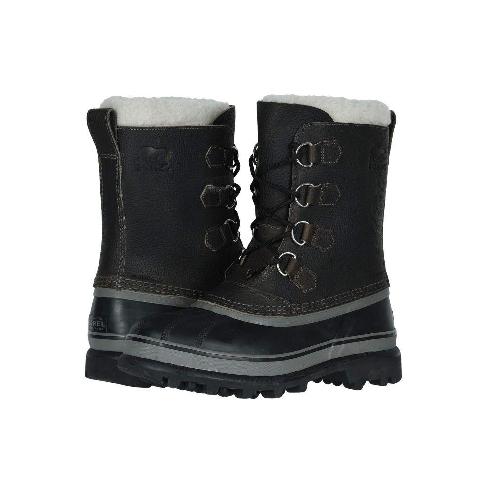 ソレル SOREL メンズ スキー・スノーボード シューズ・靴【Caribou Wool】Quarry/Black