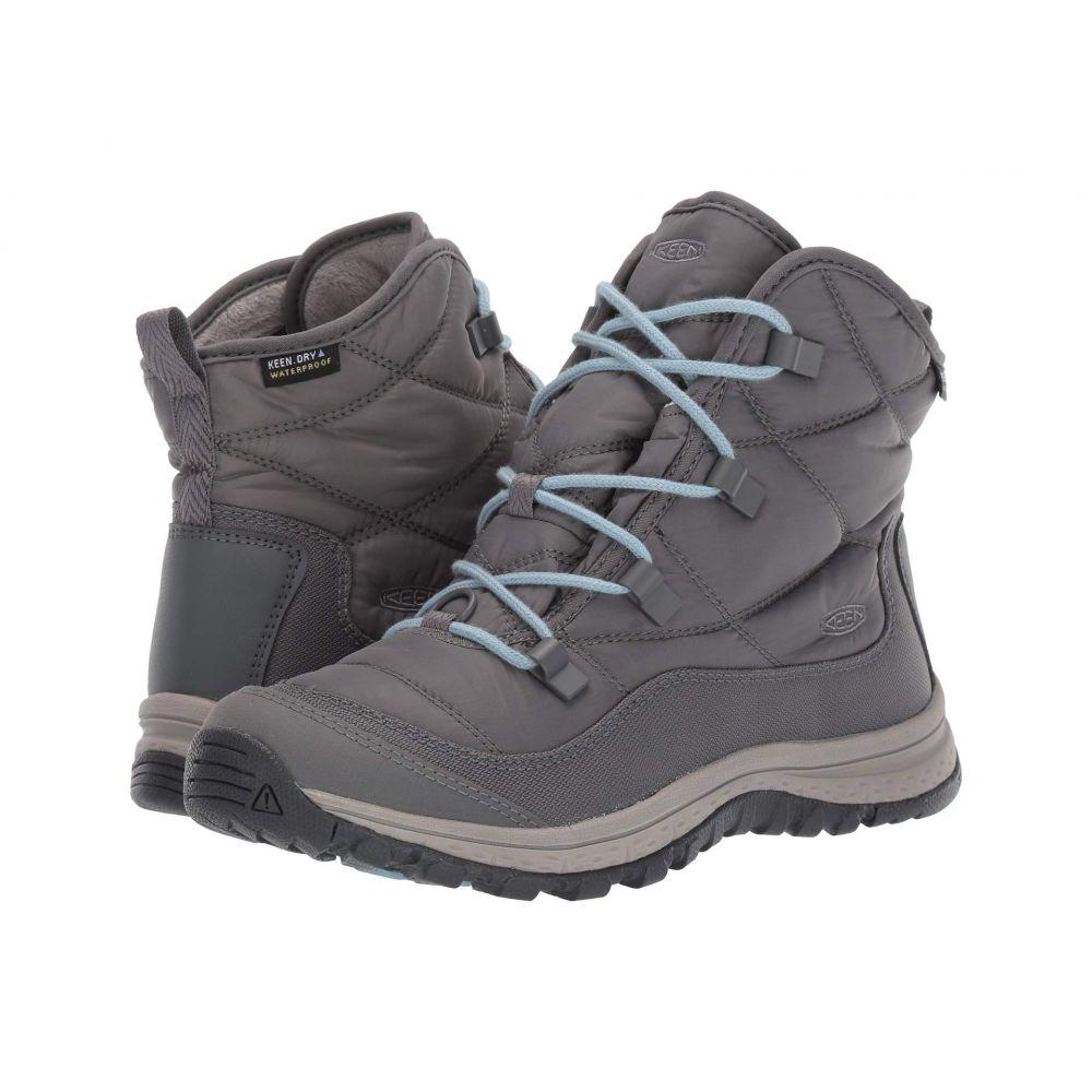 キーン Keen レディース スキー・スノーボード シューズ・靴【Terradora Ankle Waterproof】Steel Grey/Paloma