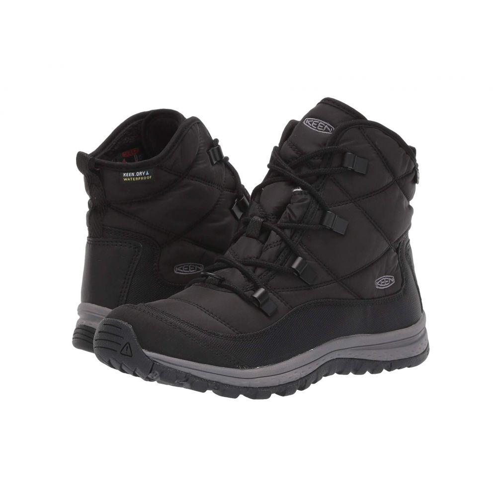 キーン Keen レディース スキー・スノーボード シューズ・靴【Terradora Ankle Waterproof】Black/Steel Grey