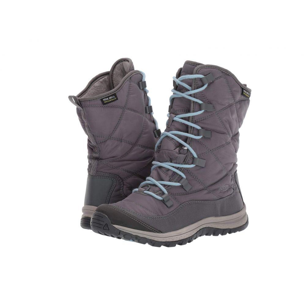 キーン Keen レディース ハイキング・登山 ブーツ シューズ・靴【Terradora Lace Boot Waterproof】Steel Grey/Forget Me Not