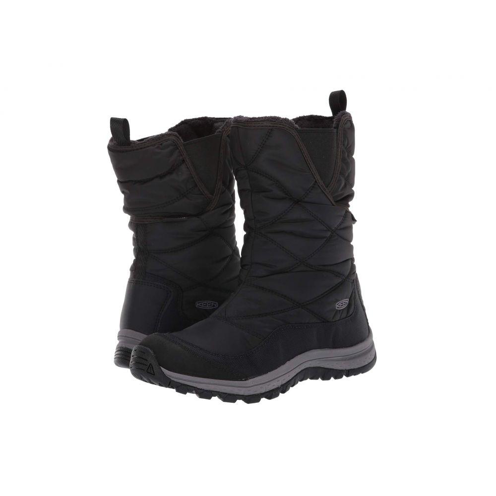 キーン Keen レディース スキー・スノーボード ブーツ シューズ・靴【Terradora Pull-On Waterproof Boot】Black/Raven
