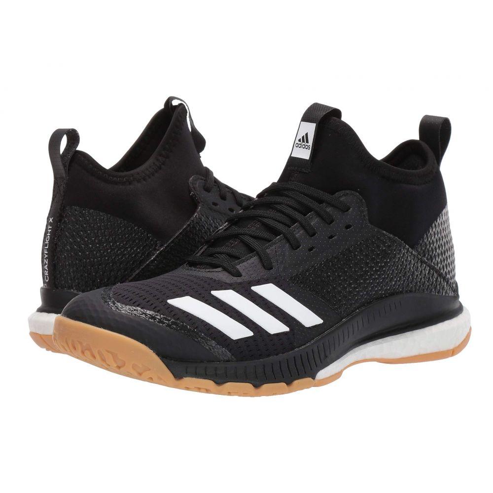 アディダス adidas レディース バレーボール シューズ・靴【Crazyflight X 3 Mid】Core Black/Footwear White/Gum M