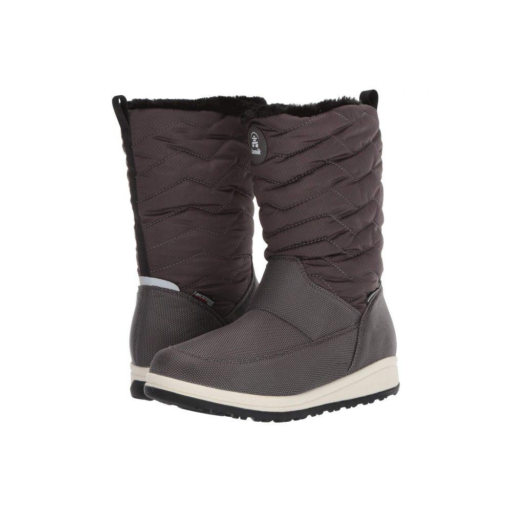 カミック Kamik レディース スキー・スノーボード シューズ・靴【Chrissy Zip】Charcoal
