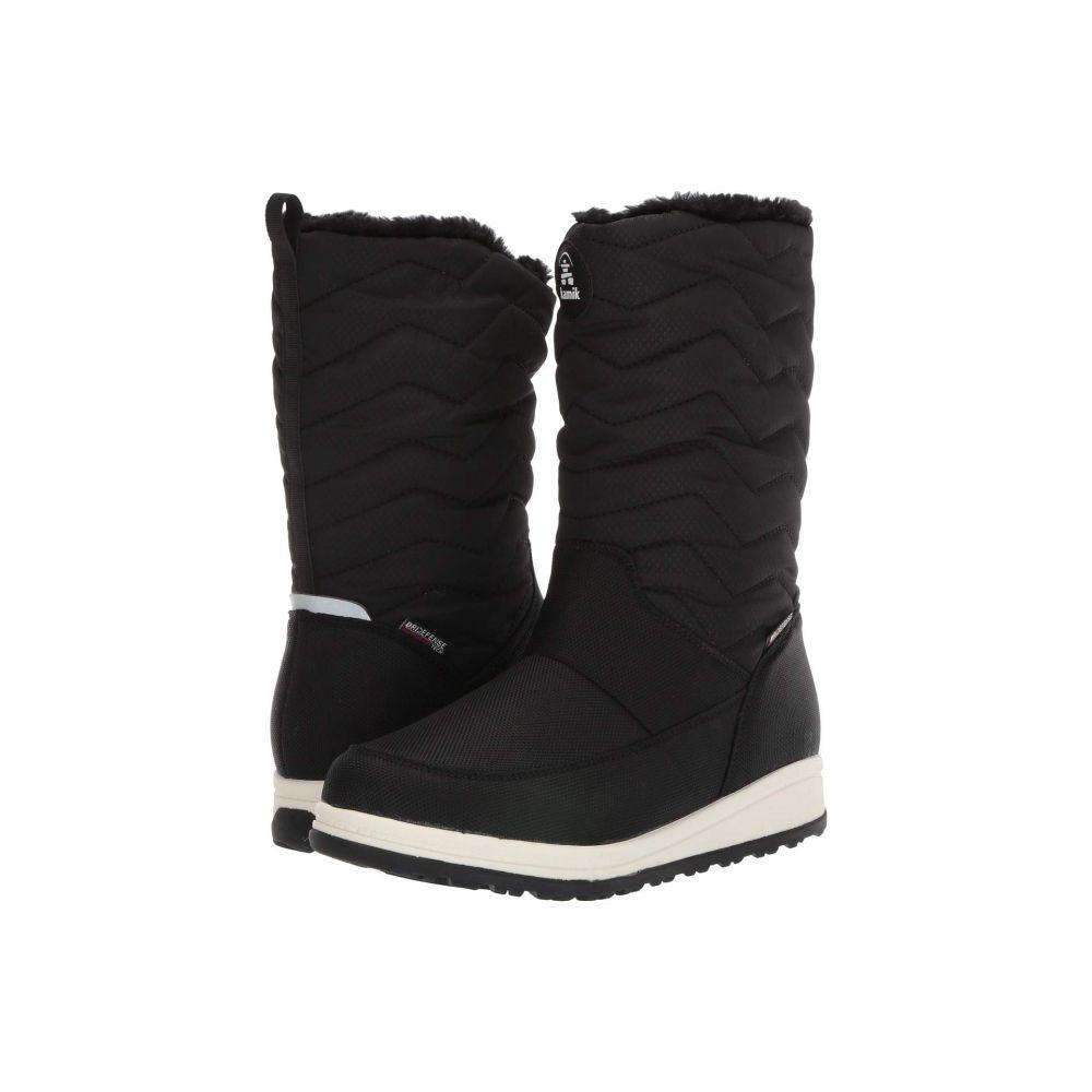 カミック Kamik レディース スキー・スノーボード シューズ・靴【Chrissy Zip】Black