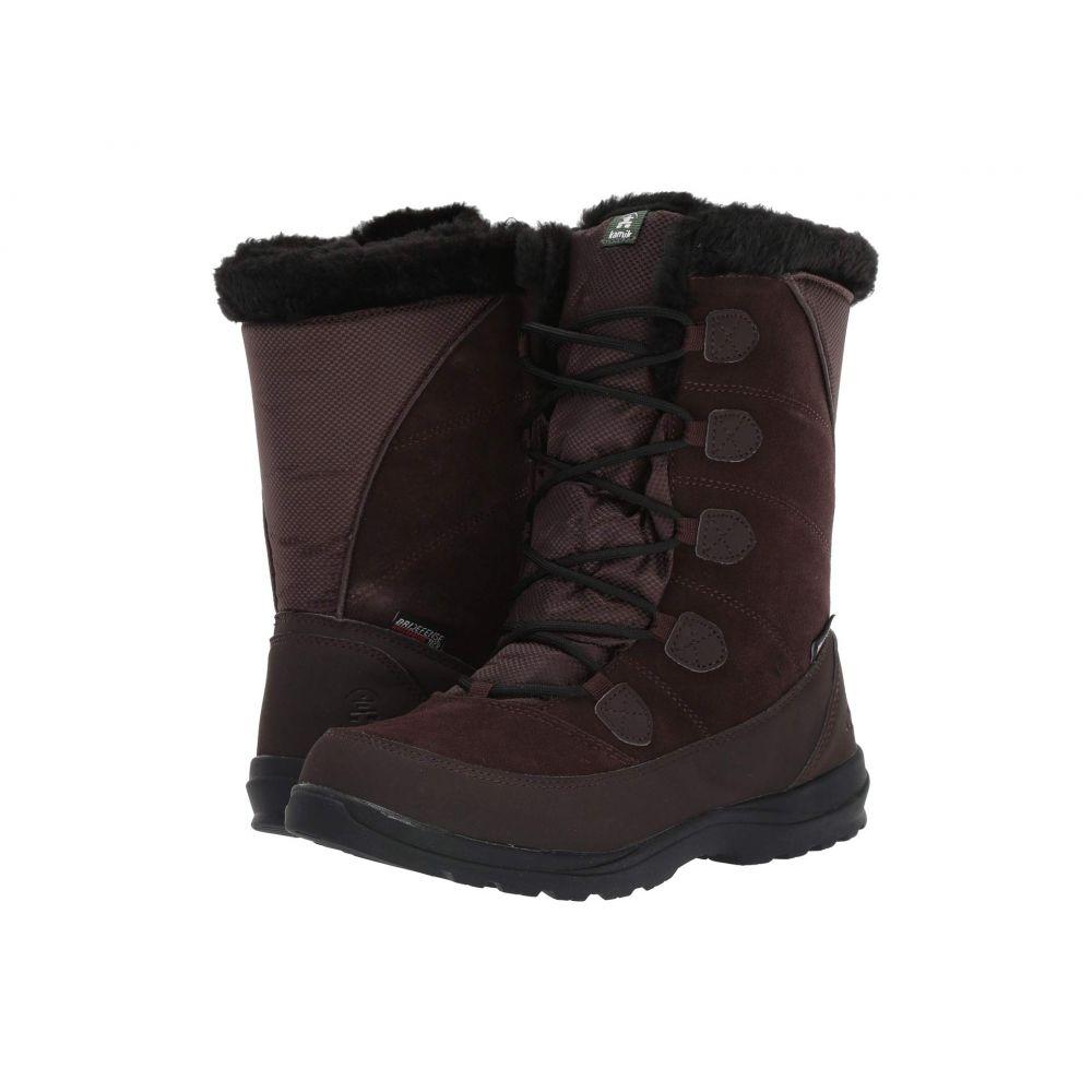 カミック Kamik レディース スキー・スノーボード シューズ・靴【Icelyn S】Dark Brown