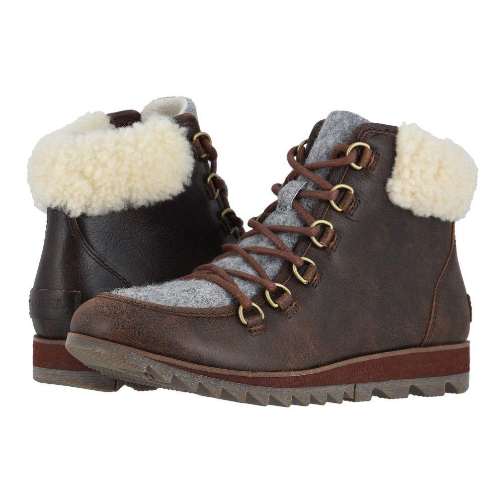 ソレル SOREL レディース スキー・スノーボード シューズ・靴【Harlow(TM) Lace Cozy】Burro