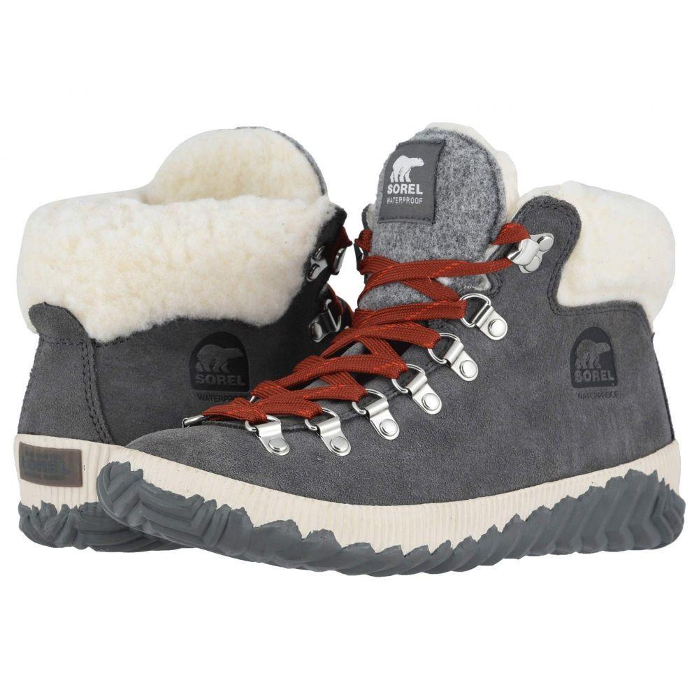 ソレル SOREL レディース スキー・スノーボード シューズ・靴【Out 'N About(TM) Plus Conquest】Quarry