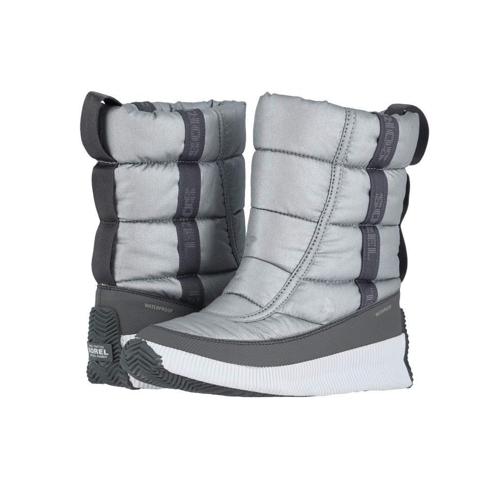 ソレル SOREL レディース スキー・スノーボード シューズ・靴【Out 'N About(TM) Puffy Mid】Pure Silver