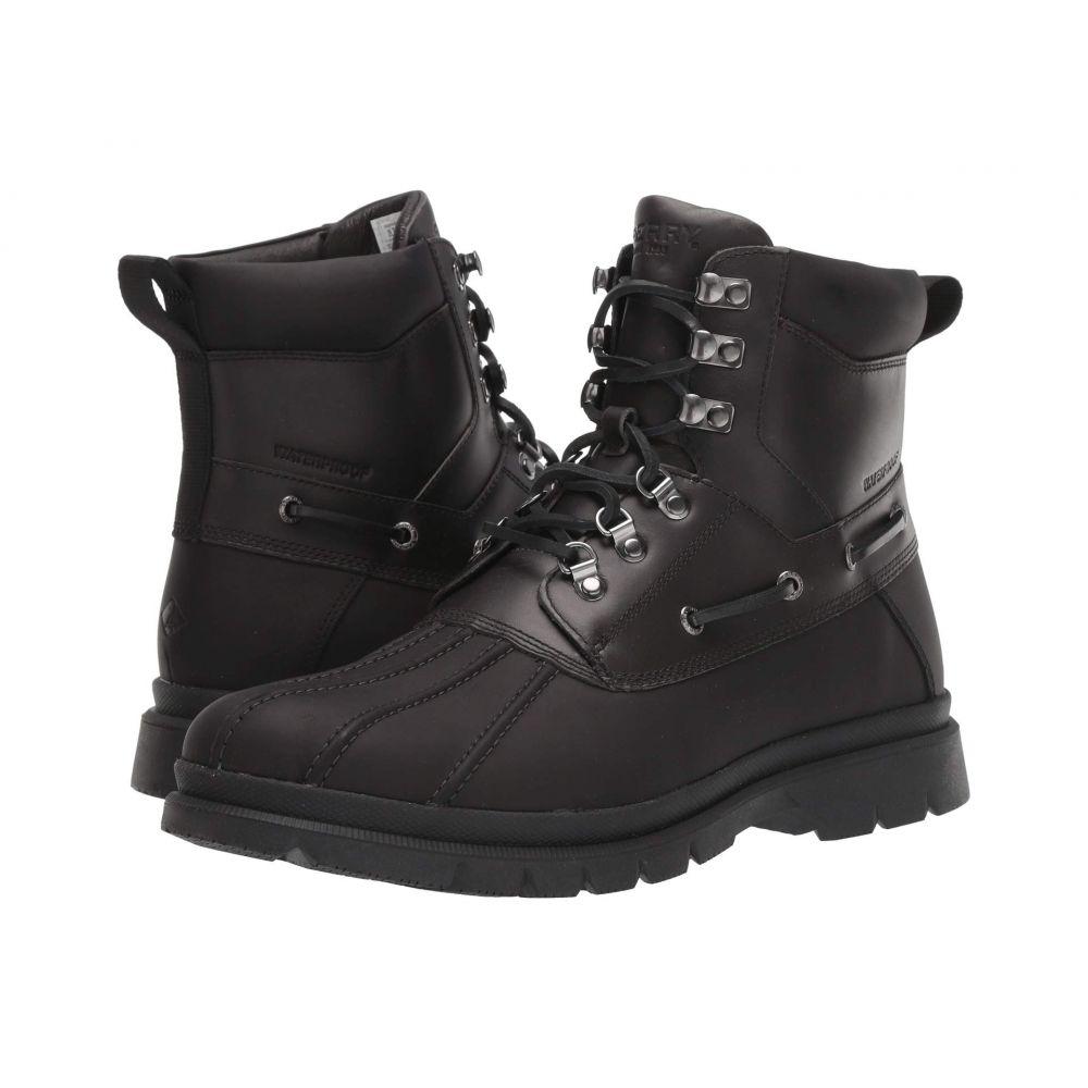 スペリー Sperry メンズ レインシューズ・長靴 シューズ・靴【Watertown Duck Boot】Black/Grey