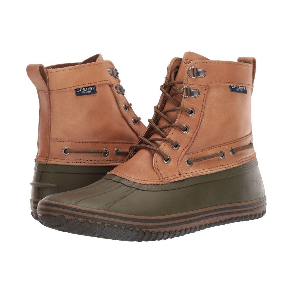 スペリー Sperry メンズ レインシューズ・長靴 シューズ・靴【Huntington Duck Boot】Tan/Olive