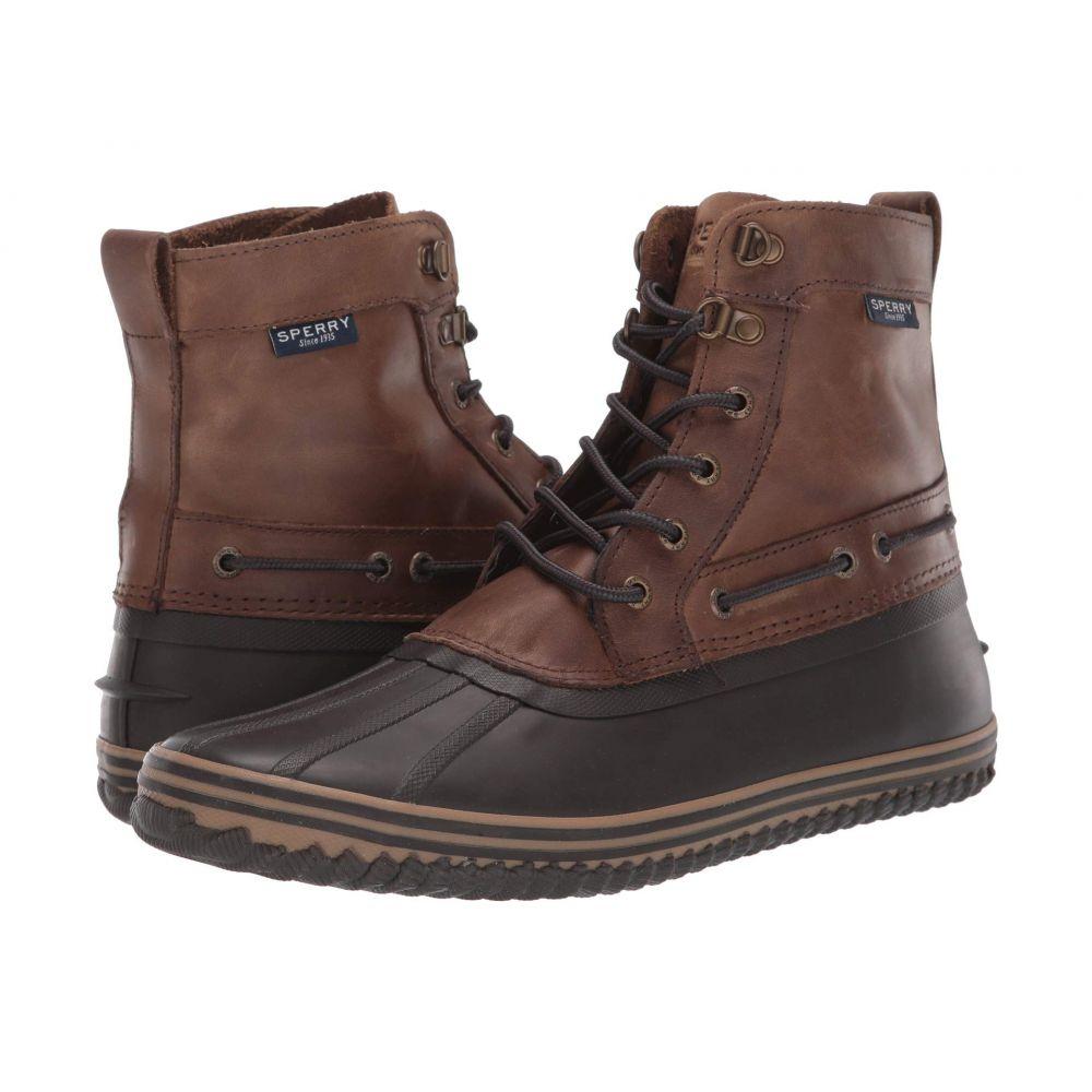 スペリー Sperry メンズ レインシューズ・長靴 シューズ・靴【Huntington Duck Boot】Brown/Dark Brown