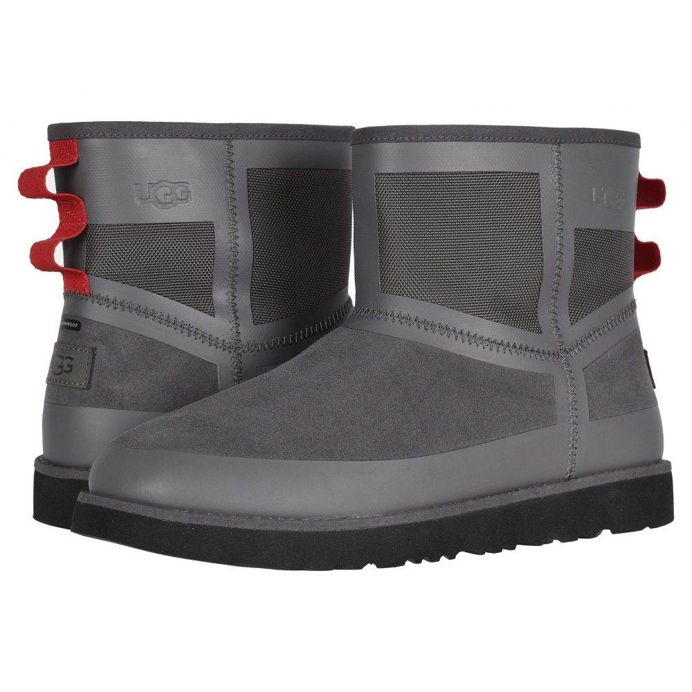 アグ UGG メンズ スキー・スノーボード シューズ・靴【Classic Mini Urban Tech WP】Charcoal