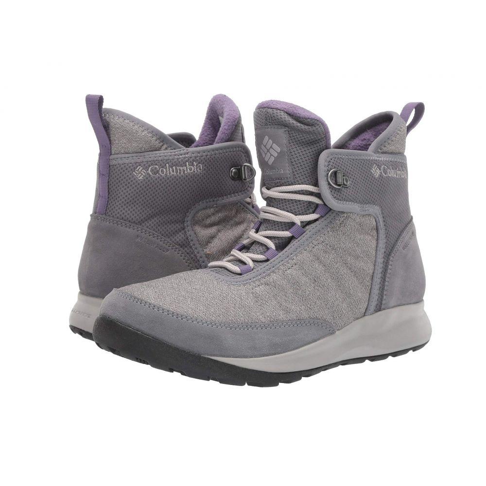 コロンビア Columbia レディース スキー・スノーボード シューズ・靴【Nikiski(TM) 503】Titanium Grey Steel/Plum Purple