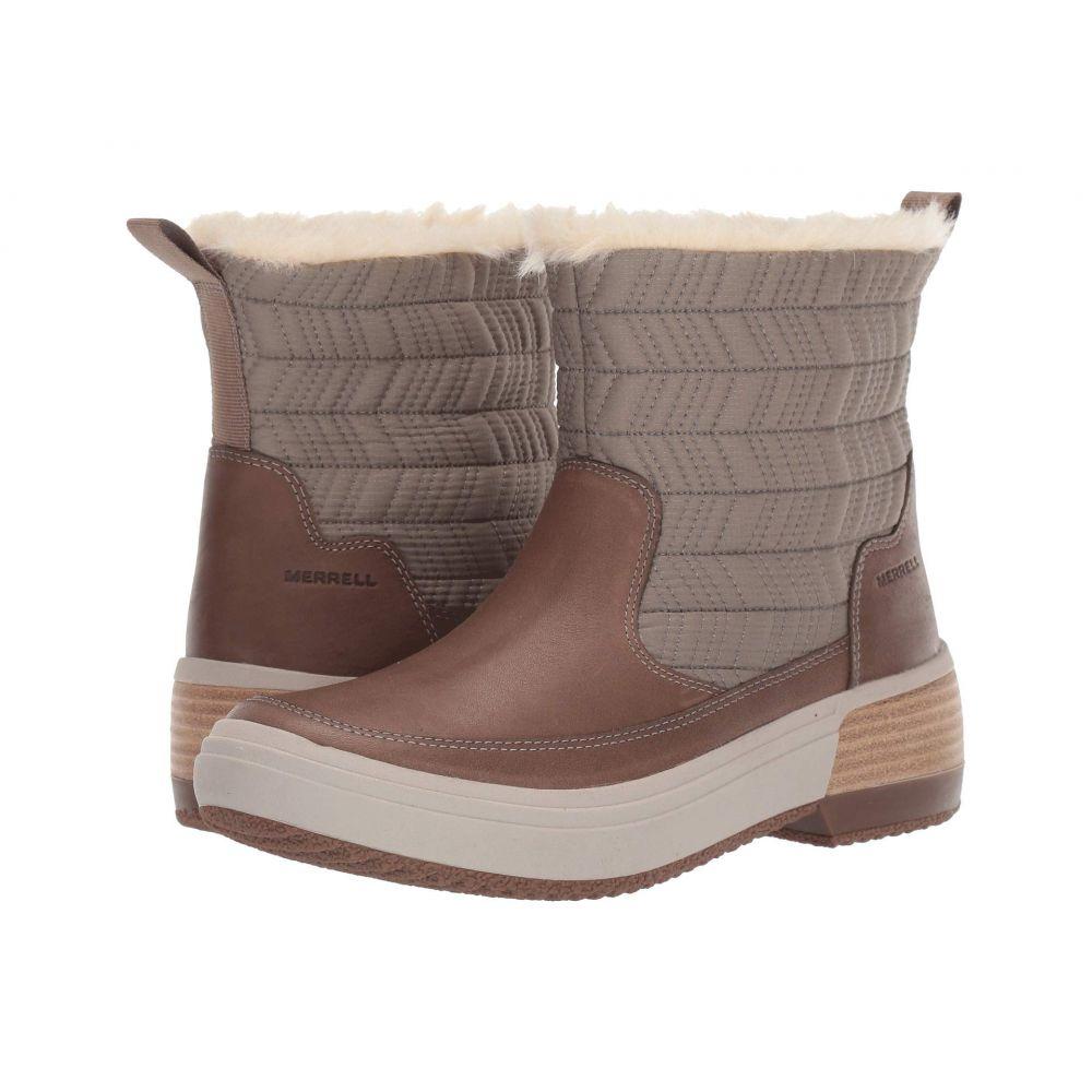 メレル Merrell レディース スキー・スノーボード シューズ・靴【Haven Bluff Polar Waterproof】Brindle