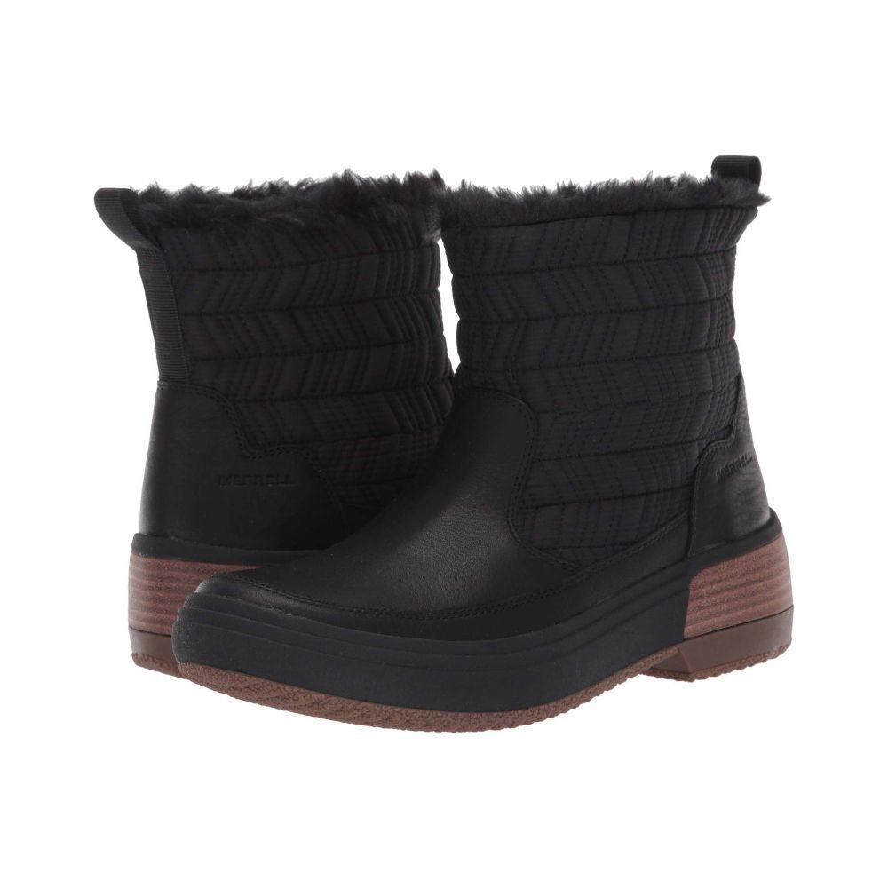 メレル Merrell レディース スキー・スノーボード シューズ・靴【Haven Bluff Polar Waterproof】Black