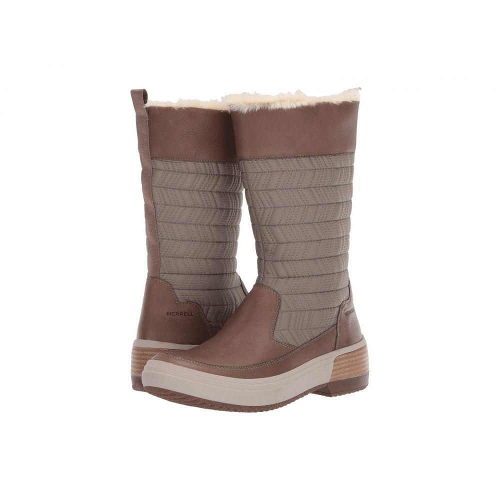 メレル Merrell レディース スキー・スノーボード シューズ・靴【Haven Pull-On Polar Waterproof】Brindle