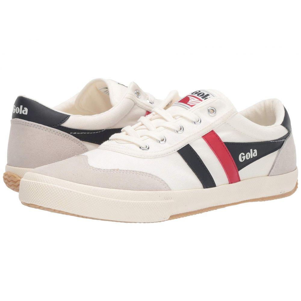 ゴーラ Gola メンズ スニーカー シューズ・靴【Badminton】Off-White/Navy/Red