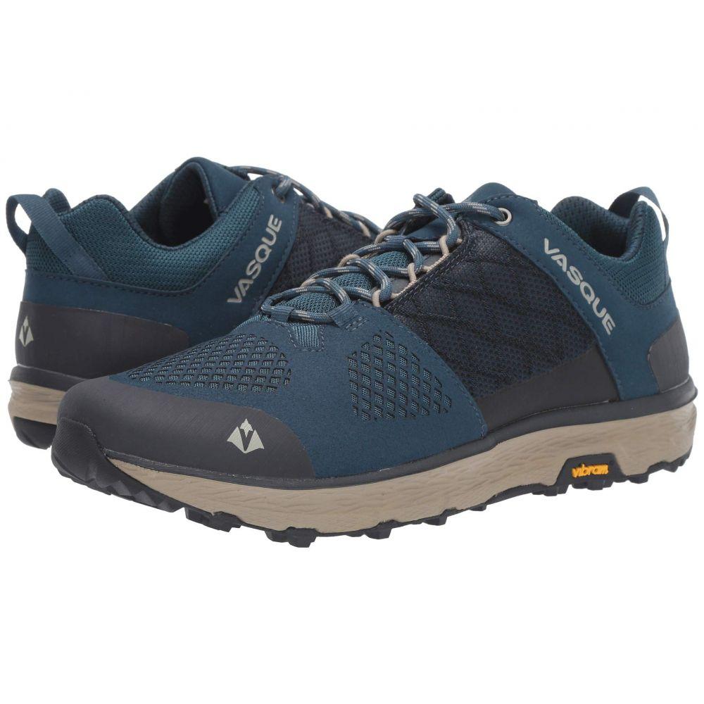 バスク Vasque メンズ ハイキング・登山 シューズ・靴【Breeze LT Low】Blue/Aluminum