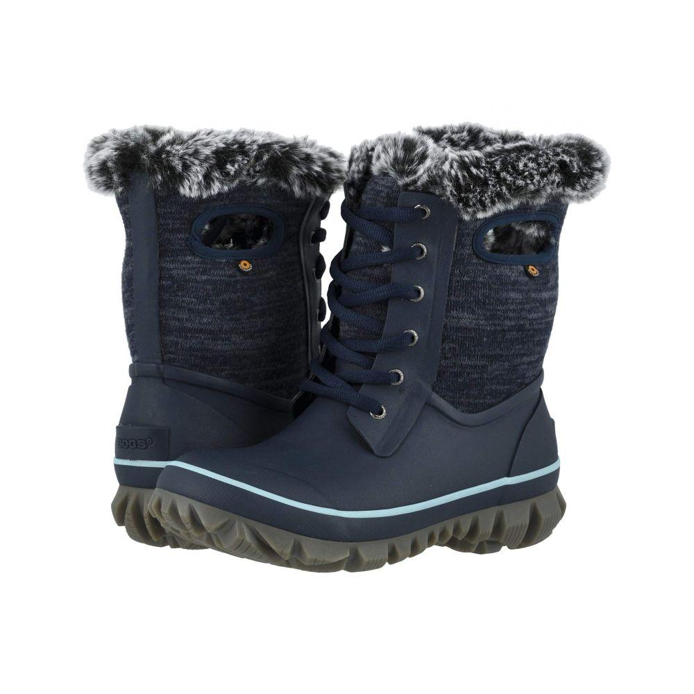 ボグス Bogs レディース スキー・スノーボード シューズ・靴【Arcata Knit】Blue Multi
