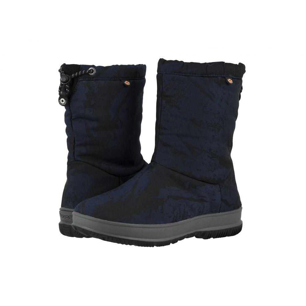 ボグス Bogs レディース スキー・スノーボード シューズ・靴【Snowday Mid Mountain】Dark Blue