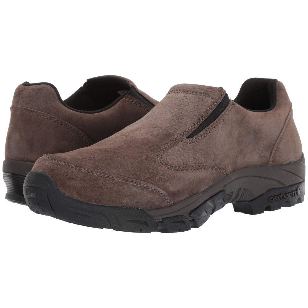 カーハート Carhartt メンズ スリッポン・フラット シューズ・靴【Lightweight Non-Safety Toe Slip-On Work Shoe】Brown Suede