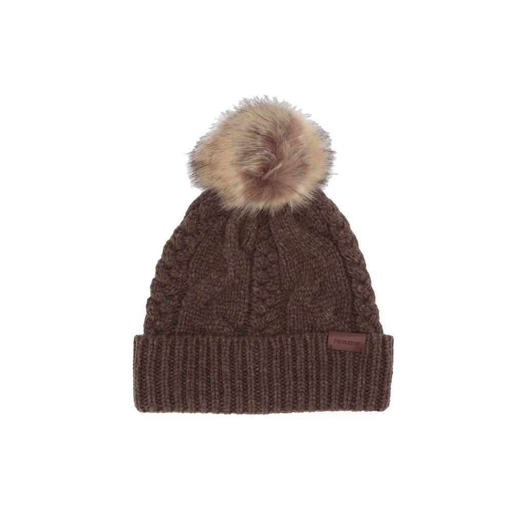 ペンドルトン Pendleton レディース ニット 帽子【Cable Hat】Nutmeg