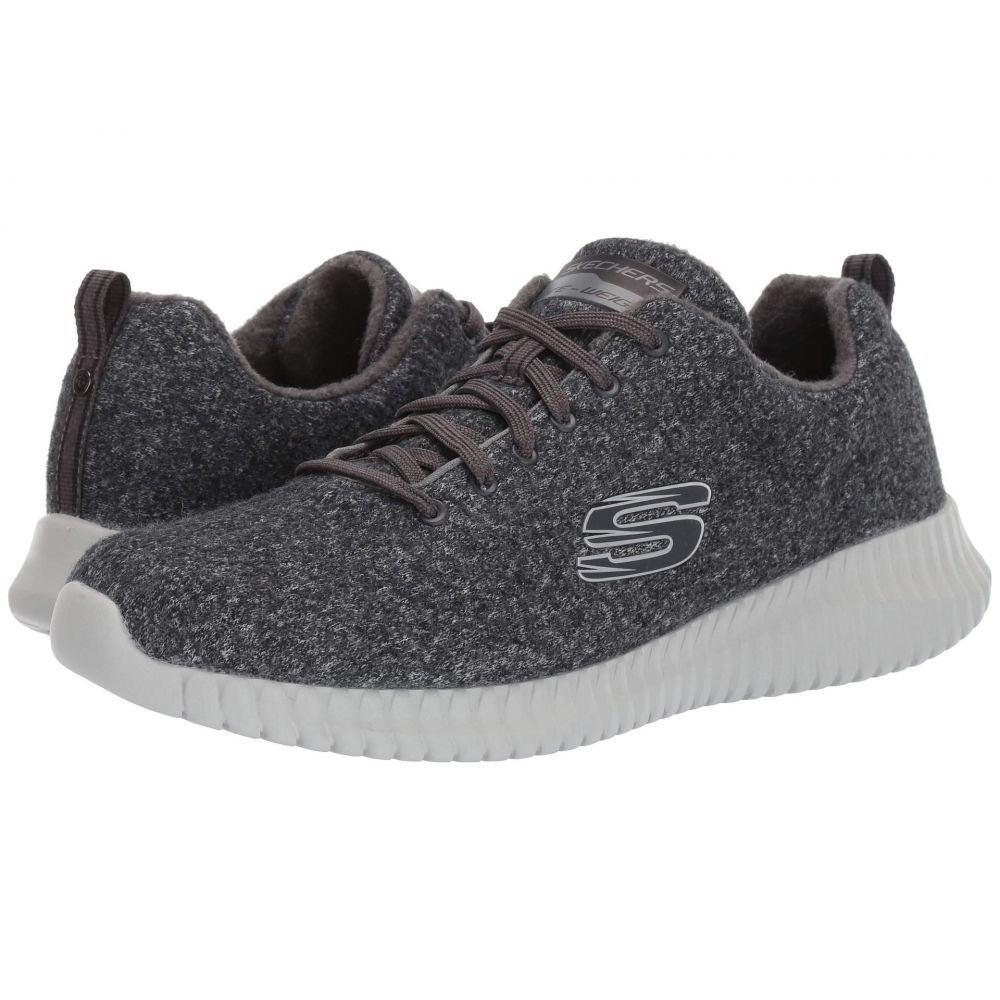 スケッチャーズ SKECHERS メンズ スニーカー シューズ・靴【Elite Flex - Swaleda】Charcoal