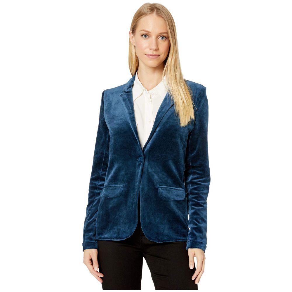 マジェスティック Majestic Filatures レディース スーツ・ジャケット アウター【One Button Blazer】Bleu Nuit