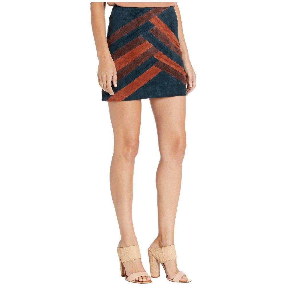 ブランクニューヨーク Blank NYC レディース ミニスカート スカート【Color Block Suede Mini Skirt】Road Block