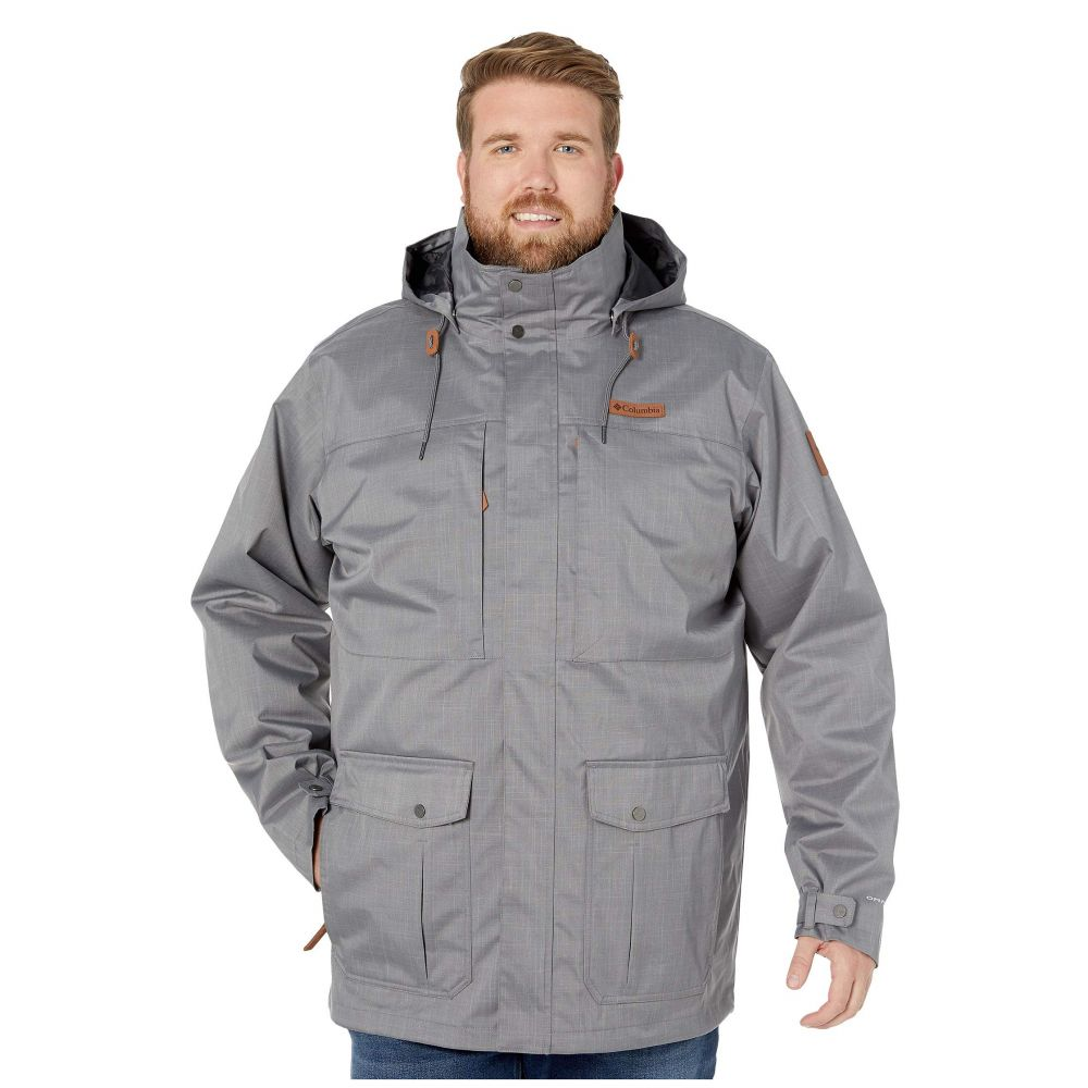 コロンビア Columbia メンズ スキー・スノーボード 大きいサイズ ジャケット アウター【Big & Tall Horizons Pine Interchange Jacket】City Grey/Shark