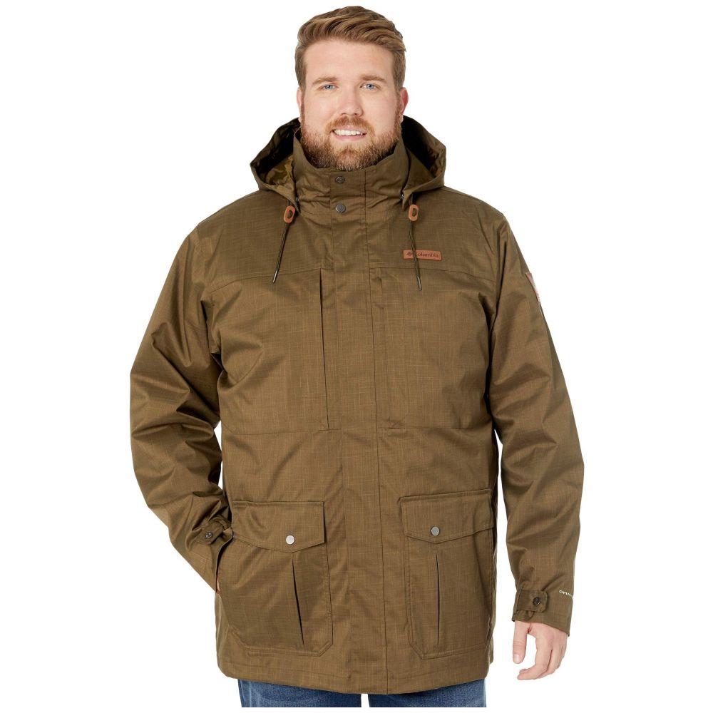 コロンビア Columbia メンズ スキー・スノーボード 大きいサイズ ジャケット アウター【Big & Tall Horizons Pine Interchange Jacket】Olive Green/Olive Brown