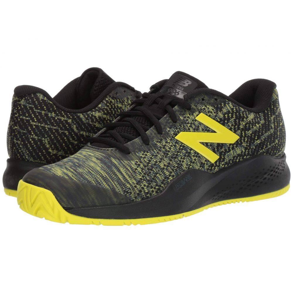 ニューバランス New Balance メンズ テニス シューズ・靴【996v3】Black/Sulphur Yellow