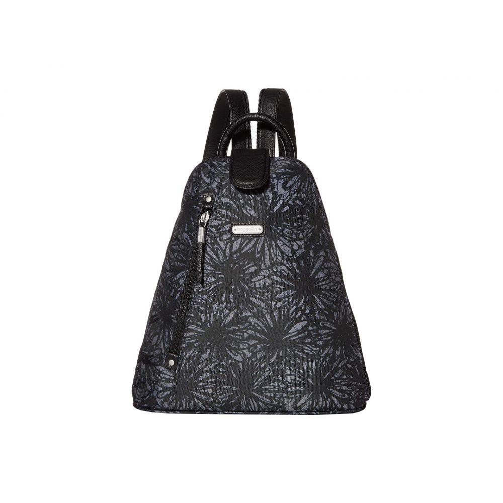 バッガリーニ Baggallini レディース バックパック・リュック バッグ【Metro Backpack with RFID Phone Wristlet】Onyx Floral