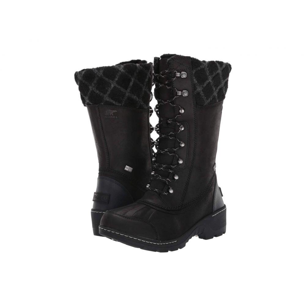 ソレル SOREL レディース スキー・スノーボード シューズ・靴【Whistler(TM) Tall】Black/Dark Stone