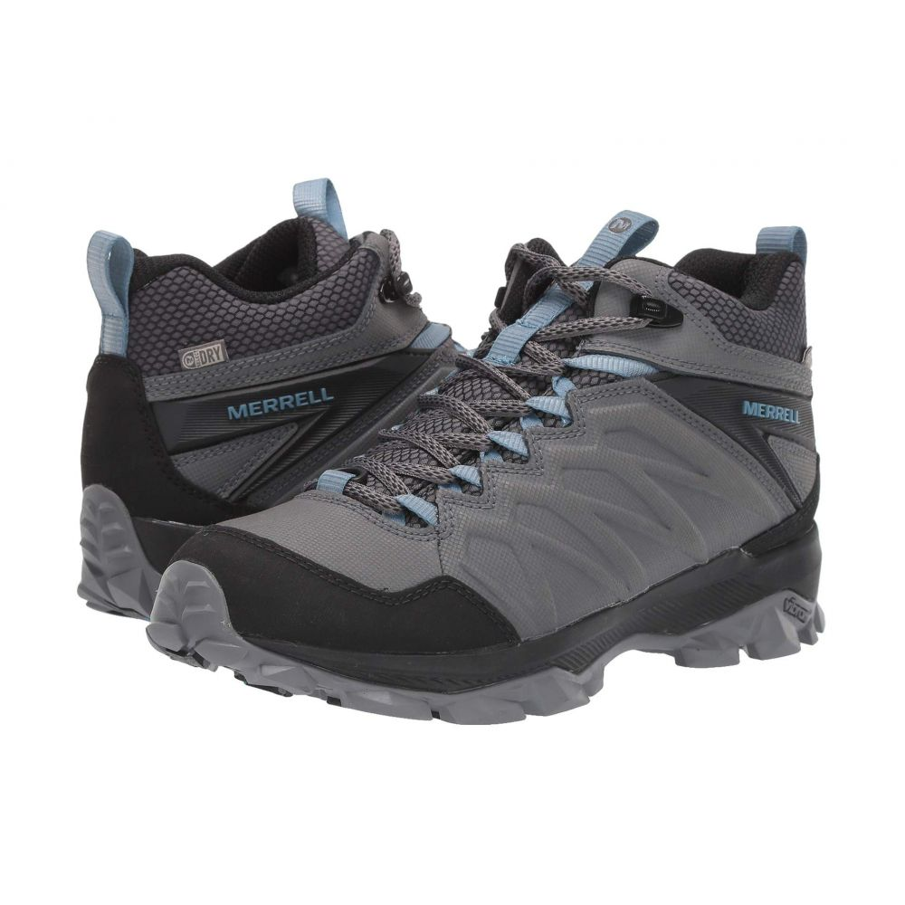 メレル Merrell レディース スキー・スノーボード シューズ・靴【Thermo Freeze Mid Waterproof】Steel