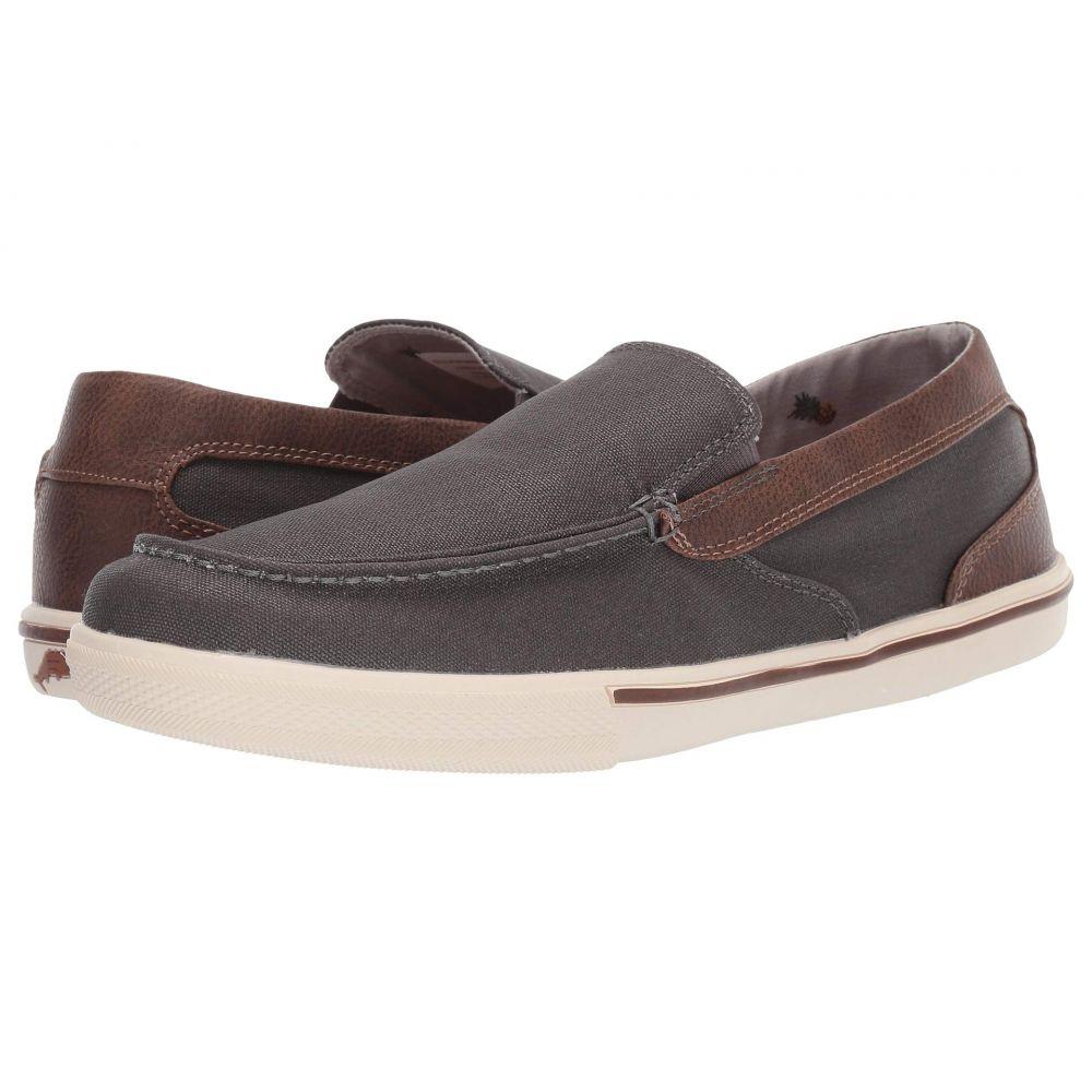 トミー バハマ Tommy Bahama メンズ スニーカー シューズ・靴【Calderon Venetian】Dark Grey/Brown Waxed