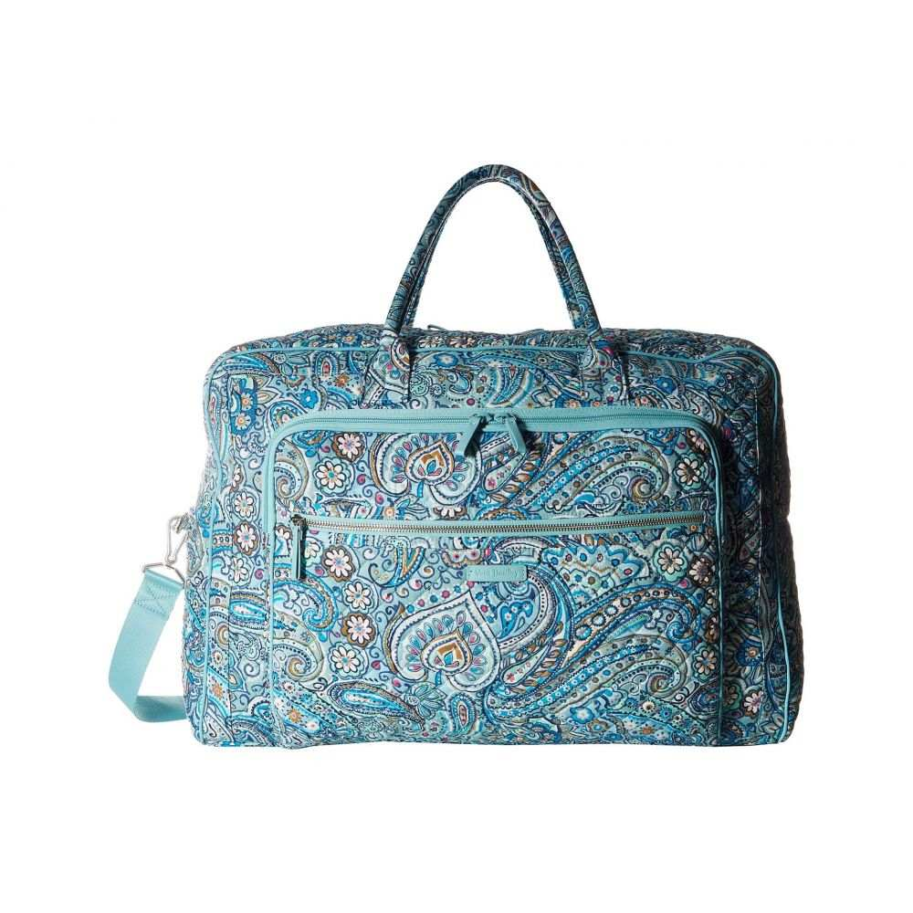 ヴェラ ブラッドリー Vera Bradley レディース ボストンバッグ・ダッフルバッグ バッグ【Iconic Grand Weekender Travel Bag】Daisy Dot Paisley