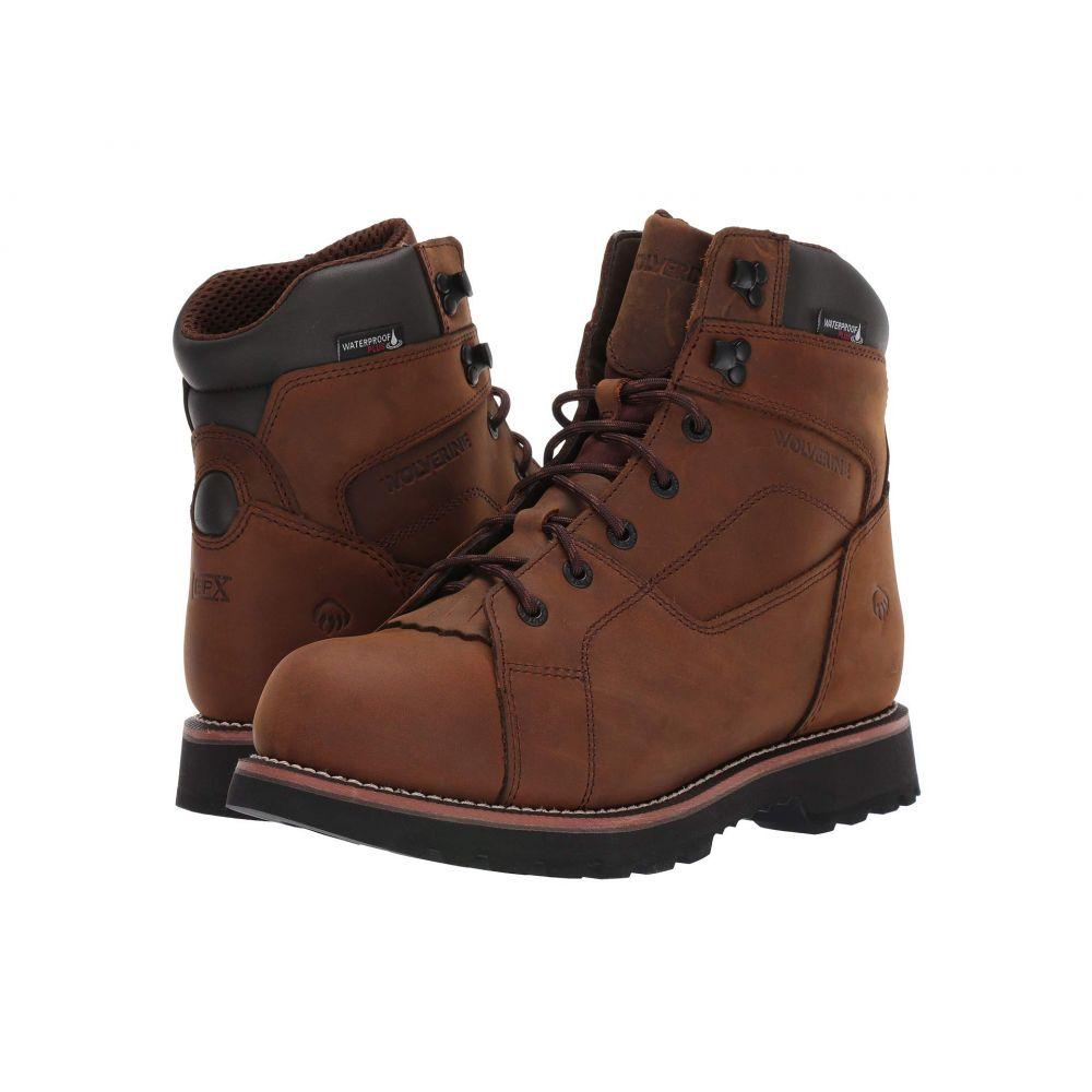 ウルヴァリン メンズ ハイキング・登山 シューズ・靴 Brown 【サイズ交換無料】 ウルヴァリン Wolverine メンズ ハイキング・登山 ブーツ シューズ・靴【Blacktail 6' Boot】Brown