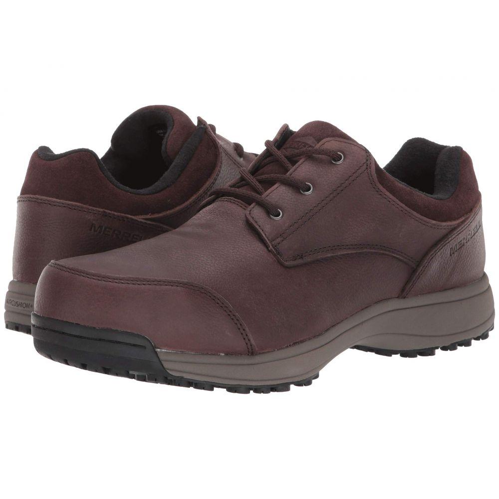 メレル Merrell Work メンズ 革靴・ビジネスシューズ シューズ・靴【Sutton Oxford Steel Toe】Espresso