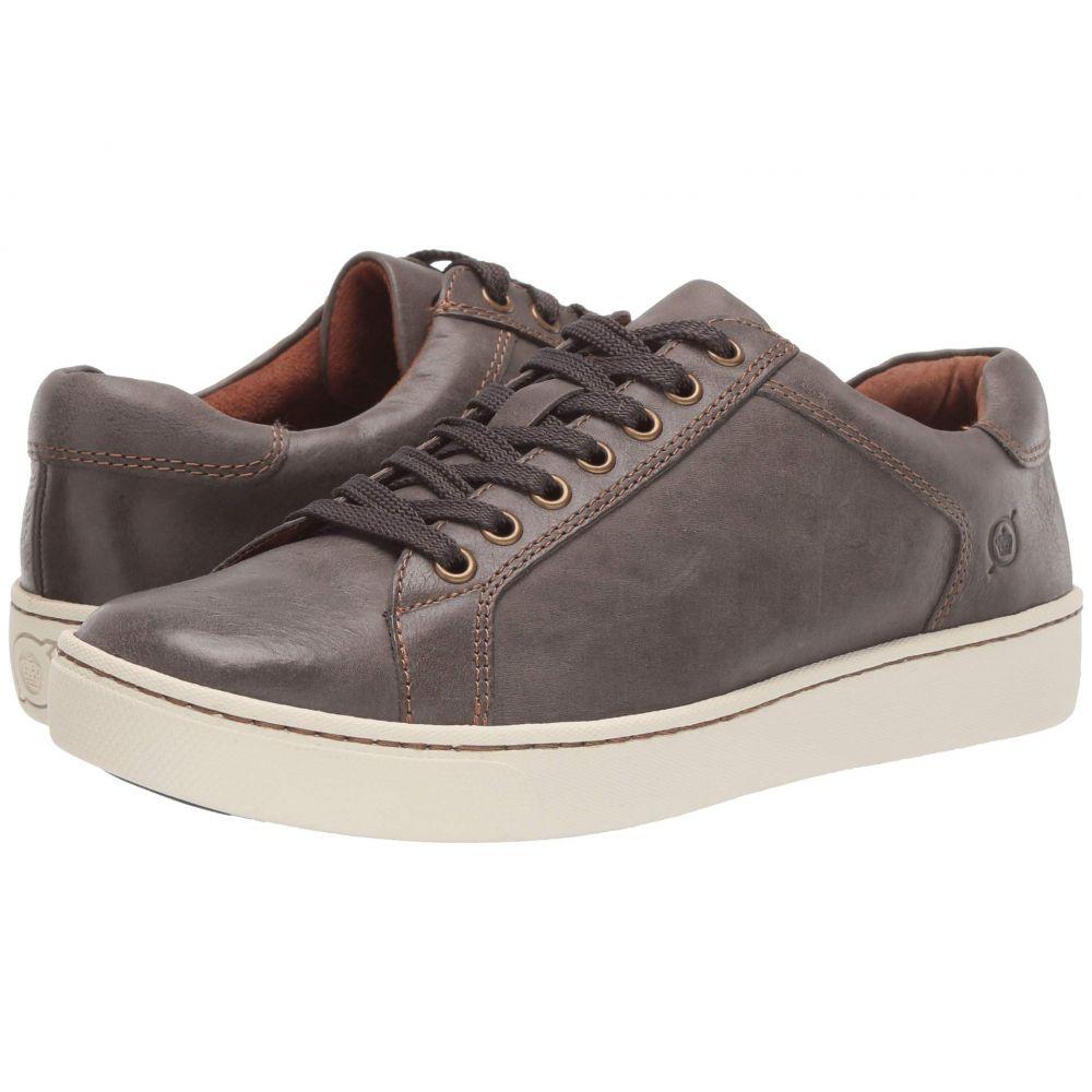 ボーン Born レディース スニーカー シューズ・靴【Sur】Dark Grey Full Grain Leather