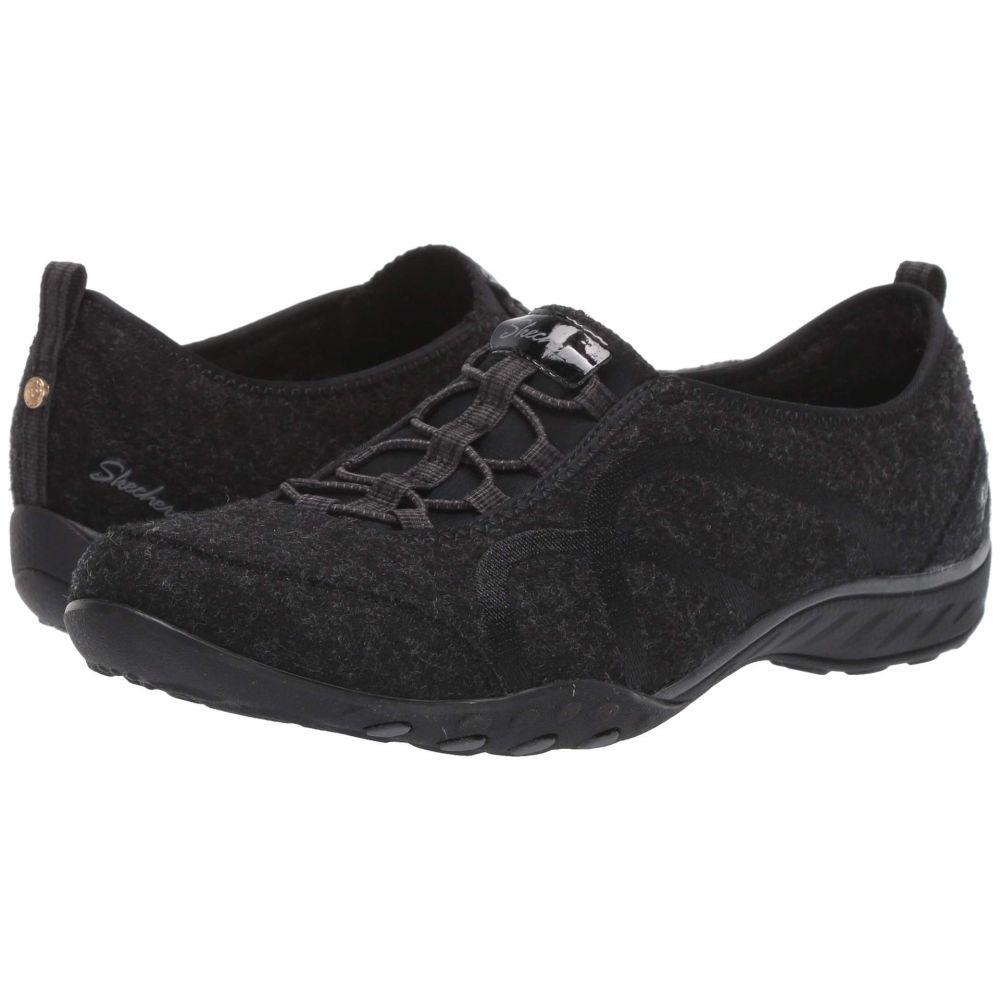 スケッチャーズ SKECHERS レディース スニーカー シューズ・靴【Breathe-Easy - Pleasantly】Black