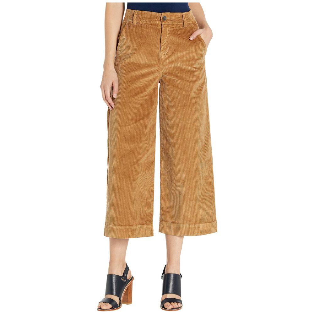 ベラ ダール bella dahl レディース クロップド ワイドパンツ ボトムス・パンツ【Stretch Cord Wide Leg Crop Trousers】Camel
