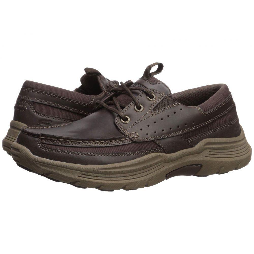 スケッチャーズ SKECHERS メンズ スニーカー シューズ・靴【Relaxed Fit Expended - Menson】Dark Brown